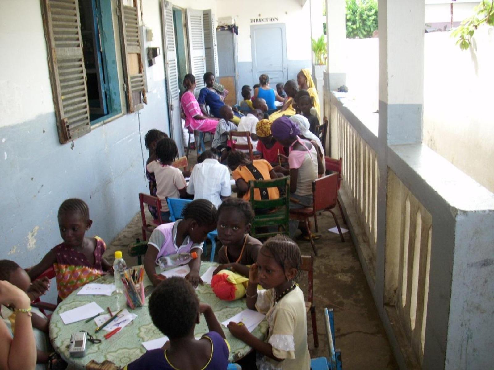 Mission humanitaire, Sénégal par Youen C